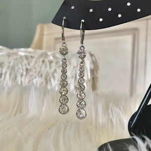Givenchy  Silver Earrings
